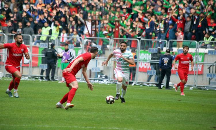 Amedspor'un hedefi Play-Off